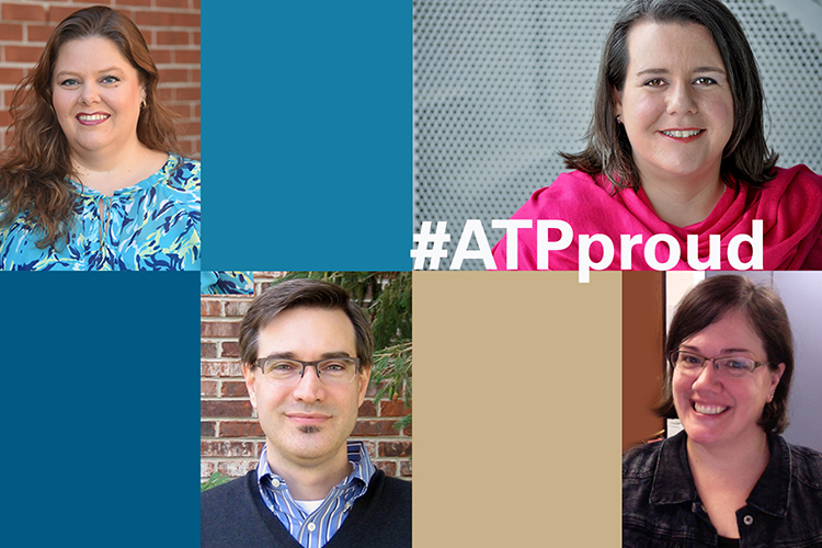WHAT MAKES YOU # ATP PROUD?