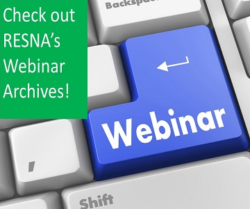 Check out the RESNA Webinar Archives